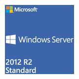 SB MS Windows Server 2012 R2 Standard 64bit, 4 Prozessoren / 4 Virtuelle Maschinen DVD Deutsch Win (SystemBuilder)