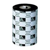 Zebra Ribbon 2300 Wax, Box: 12 Stück, 110mm x 300m, schwarz