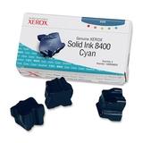 Xerox Solid Ink Stix für Phaser 8400 3er Pack cyan