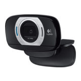 Logitech C615 HD Webcam USB schwarz