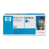 HP Toner Q7581A ca. 6000 Seiten cyan