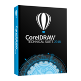 CorelDRAW Technical Suite 2018 Upgrade Proptection, Single User, 1 Jahr. ML, Win