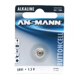 Ansmann LR41 Alkaline Knopfzelle 1,5V