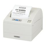 Citizen CT-S4000/L, USB, RS232, 8 Punkte/mm (203dpi), Cutter, weiß