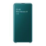 Samsung Clear View Cover für Galaxy S10e Grün