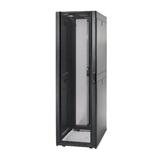 APC NetShelter SX 48HE, 60cm breit, 107 cm tief, schwarz, optimierte Türventilation,, abnehmbare und abschließbare Türen/Seitenwände