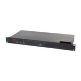 APC KVM Switch 16ports 1 lokaler Benutzer 1 IP-Benutzer Rack 1HE