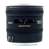 Sigma EX 2,8/10 fisheye DC HSM-Technik NAFD 180°Fisheye für DSLR-Kameras Bildsensor in APS-C Format