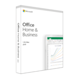 Microsoft Office Home and Business 2019, Box, Deutsch, 1 PC/Mac.