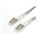 Roline LWL Duplexkabel 50/125µm LC/LC violett 5m