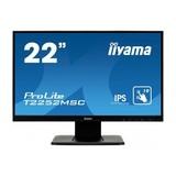 "Iiyama Prolite T2252MSC-B1 Touch-Monitor 54,6 cm (21,5"") 1920 x 1080 Pixel 7 ms"