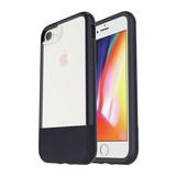 OtterBox Slim Case für iPhone 8 Plus/7 Plus mit Alpha Glass Displayschutz matt schwarz