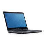 Dell Mobile Precision M7720 i7-7700HQ 16GB 256GB 43,8cm W10P