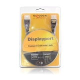 Delock DisplayPort Anschlusskabel Stecker/Stecker 5 m