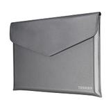 "Toshiba Ultrabook Sleeve für 35,6cm (14"") Notebooks Kunstleder/Samt silber"
