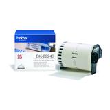 Brother DK22243 DK-Endlosetiketten Papier weiß 30,48mx102mm für P-touch QL-1050/1050N