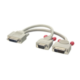 Lindy DVI KVM Splitterkabel  VGA & DVI-D