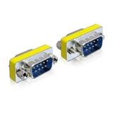 Delock Adapter Gender Changer Sub-D9 Stecker/Stecker