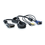 HP KVM-USB Kabel für HP 1x4 KVM Switch, 2m, 2er Pack