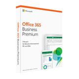 Microsoft Office 365 Business Premium PROMO, Jahresabonnement, Deutsch, 1 User, 5 PC/Mac. Nur  bei gleichzeitigem Kauf mit einem Mac  buchbar