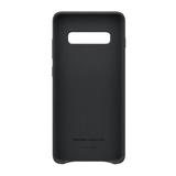 Samsung Leather Cover EF-VG975 für Galaxy S10+ Schwarz