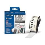 Brother DK Endlos-Etikett Papier weiß 12mmx30,48m für QL-500/550