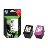 HP Tintenpatrone Nr. 62 Combo Pack cyan, gelb, magenta, schwarz