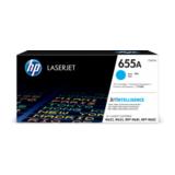 HP 655A LaserJet Toner Cartridge Cyan