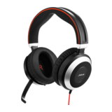 Jabra Evolve 80 MS Duo Headset Schnurgebunden