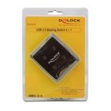Delock Data Switch USB 4 PC / 1 USB-Device DL