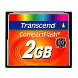 Transcend CF Card 2GB 133x CompactFlash mit MLC Chips