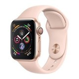 Apple Watch Series 4 40mm GPS Aluminiumgehäuse Gold mit Sportarmband Sandrosa