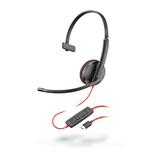 Plantronics Blackwire 3210, Headset monaural mit USB-C Anschluss