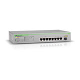 Allied Telesis AT GS900/8PS Switch unmanaged 8x10/100/1000 + 1xSFP Desktop an Rack montierbar PoE