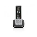 Siemens Gigaset C430 schnurloses Telefon DECT/GAP schwarz/silber