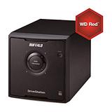 BUFFALO DriveStation Quad NAS HD-QHU3 12000GB 4x3000GB SATA III RAID 0/1/5/10/Spanning/JBOD WD RED