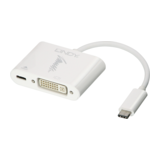 Lindy USB 3.1 Typ C DVI Adapter mit Power Delivery 60 W