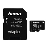 Hama microSDXC 256GB Class 10 UHS-I 80MB/s + Adapter/Mobile