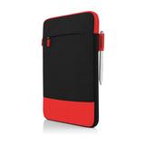 Incipio Asher vertikale Tasche für Microsoft Surface 3 schwarz/rot