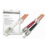 Digitus LWL Duplexkabel 50/125µm LC/ST orange 1m