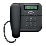 Siemens Gigaset DA610 Telefon mit Schnur mit Anruferkennung schwarz