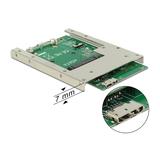"""Delock Konverter USB 3.0 zu mSATA 6,4cm (2,5"""")"""