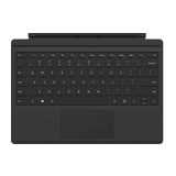 Microsoft Surface Pro (2017) Type Cover schwarz Layout deutsch