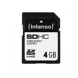 Intenso SDHC Card 4 GB Class 10