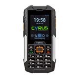 "Cyrus Outdoor Hybrid Handy CM16 6,1 cm (2,4"") 4 GB Schwarz"