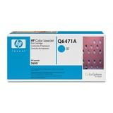 HP Toner Q6471A ca. 4000Seiten cyan