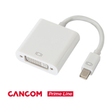CANCOM Prime Line Mini DisplayPort zu DVI Adapter