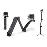 GoPro 3 Wege Halterung Stützsystem Griff mit Auslöser