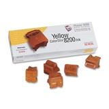 Xerox Phaser 8200 ColorStix gelb 7.000 Seiten 5 Stück