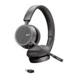 Plantronics Voyager 4220 UC Headset On-Ear Bluetooth USB-A
